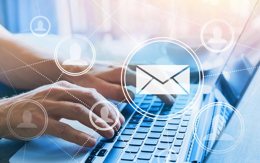 Sinnbild: Email schreiben