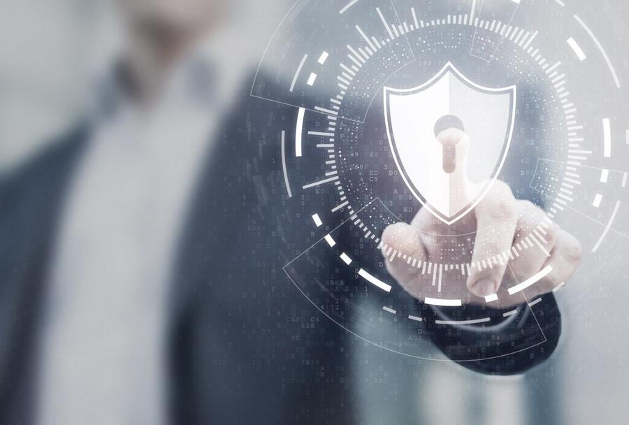 Datensicherheit Sinnbild
